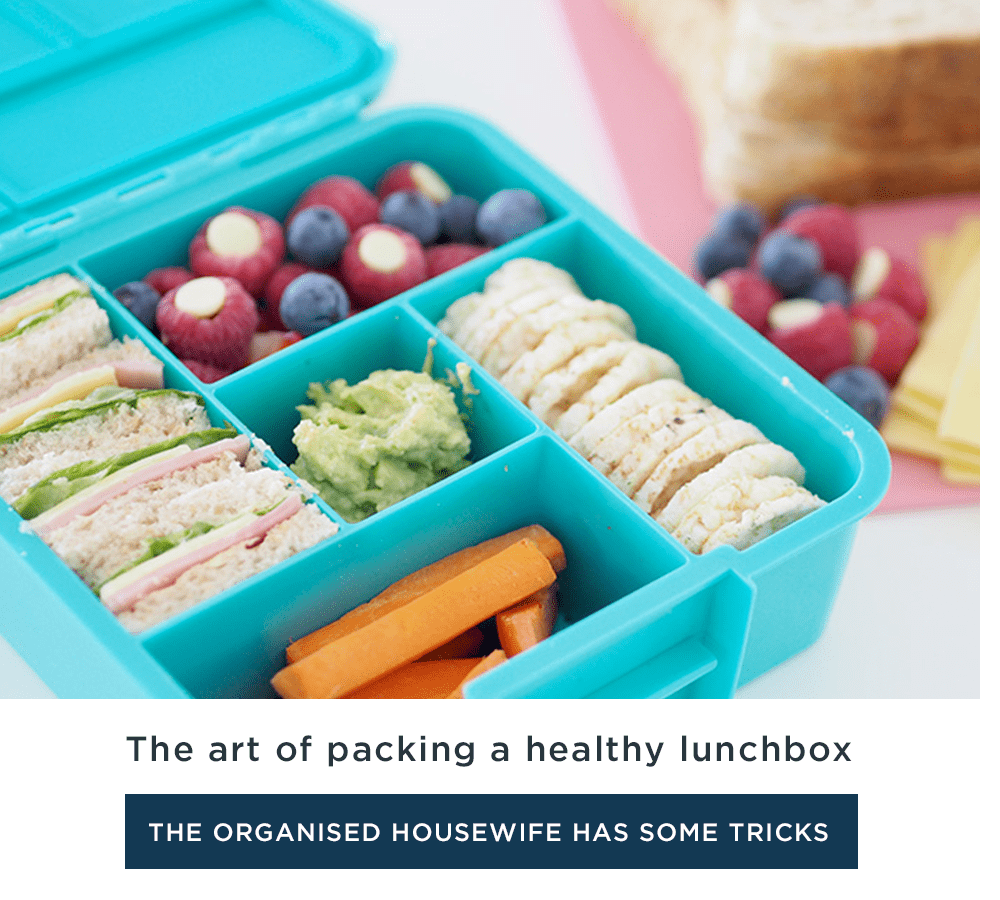 The art of packing a healthy lunchbox