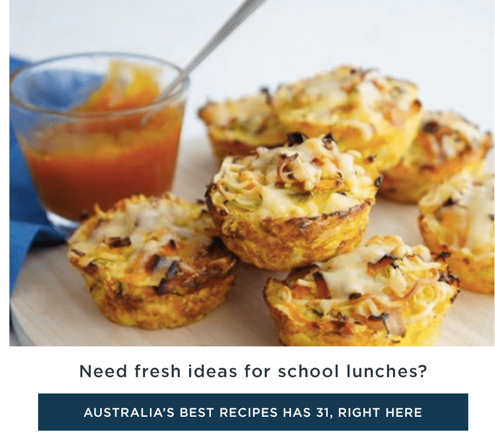 Need fresh ideas for school lunches?