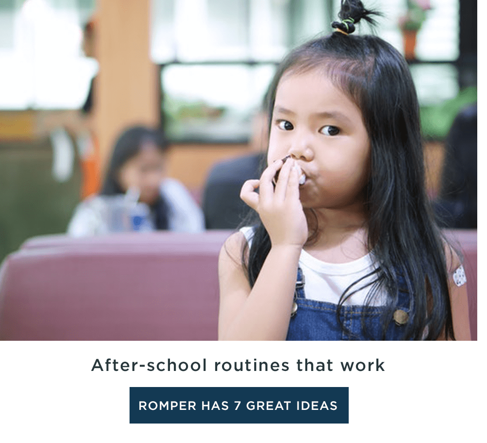 After-school routines that work