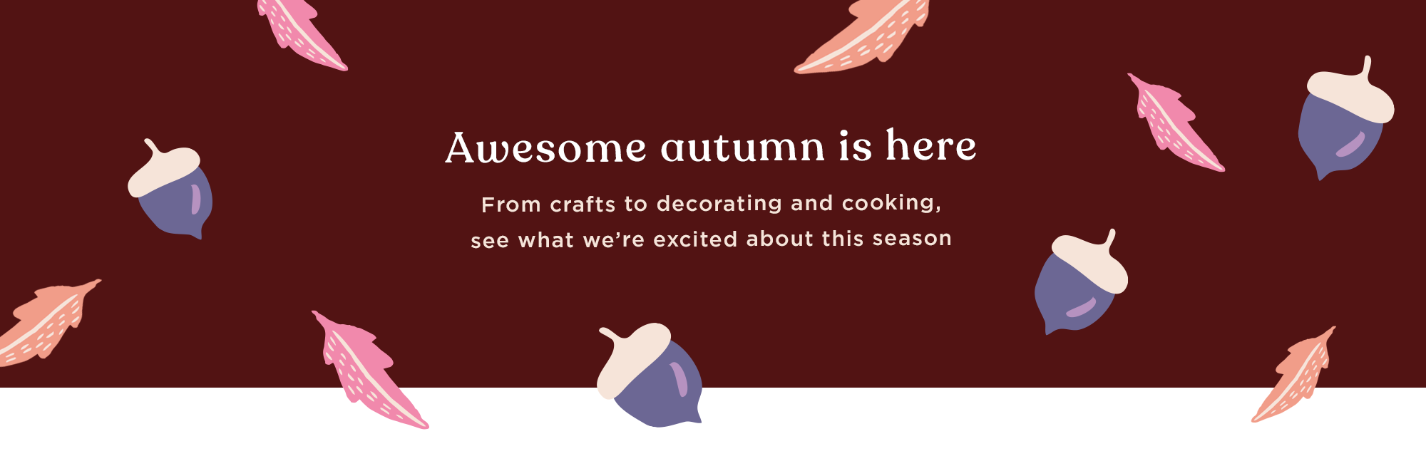 Awesome autumn is here