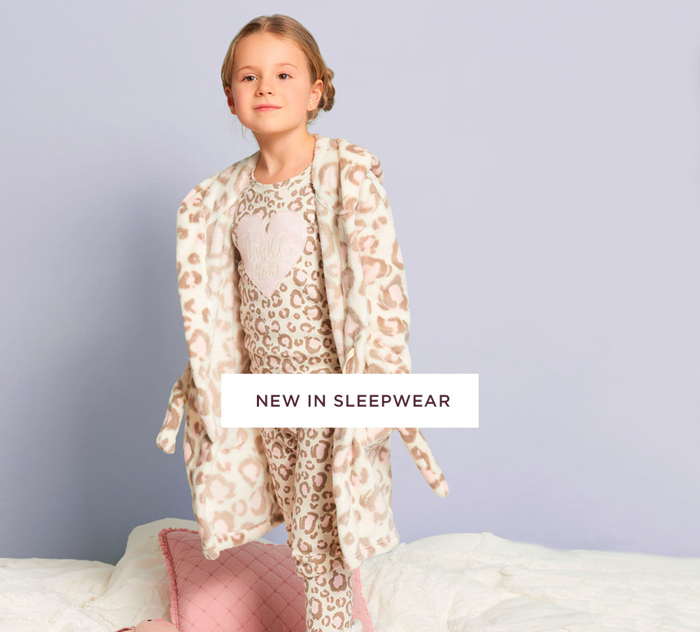 shop girls' sleepwear