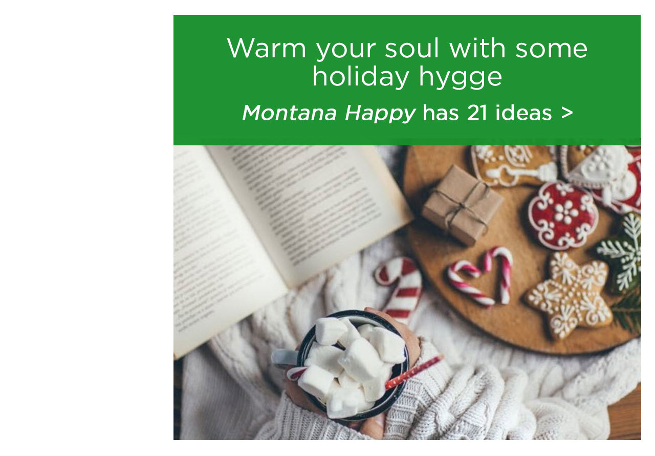 Warm your soul with some holiday hygge
