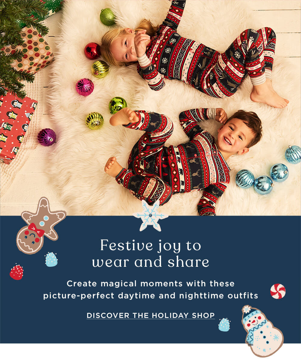Festive joy to wear and share - shop holiday