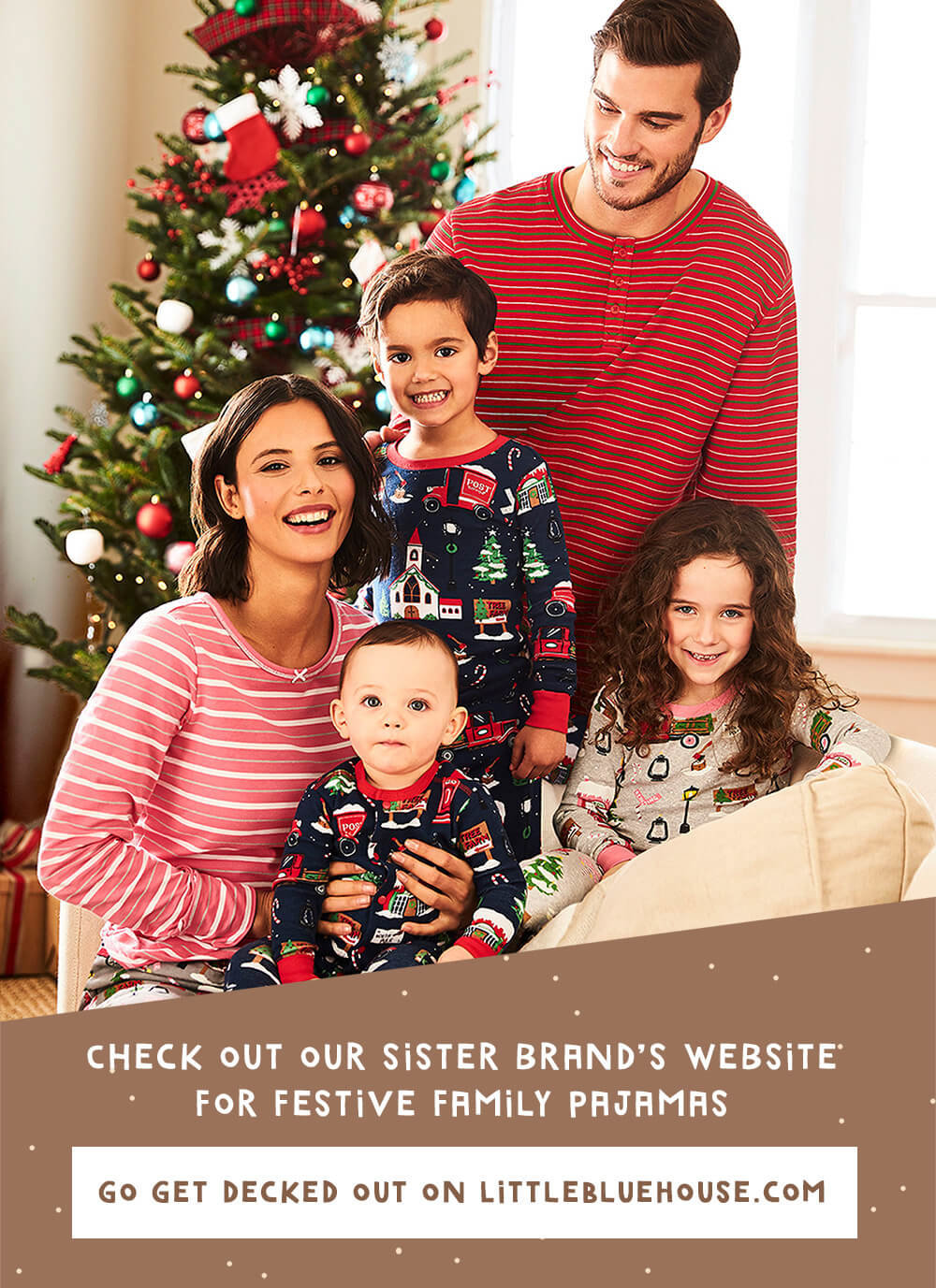 Shop pajamas at our sisiter site, littlebluehouse.com
