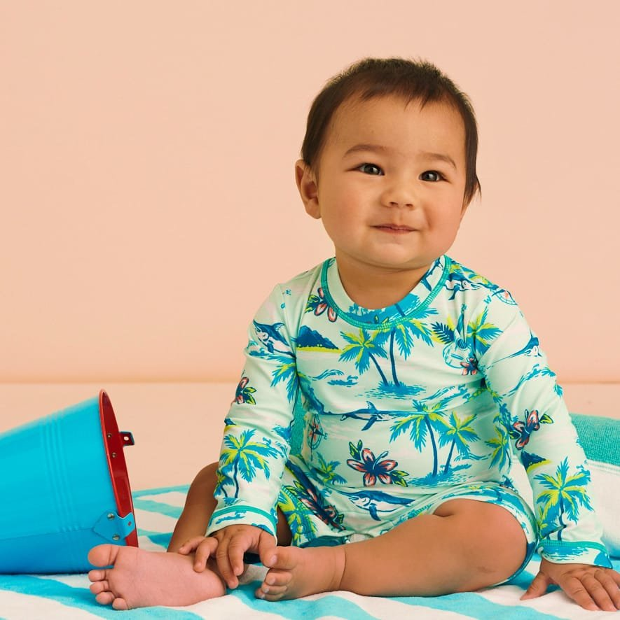 Shop new swimwear for baby