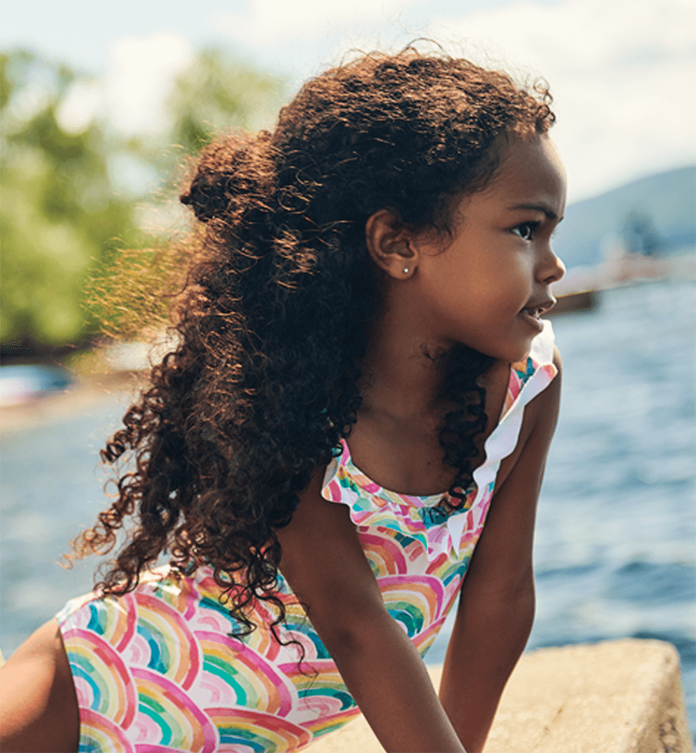 Shop girls swimwear