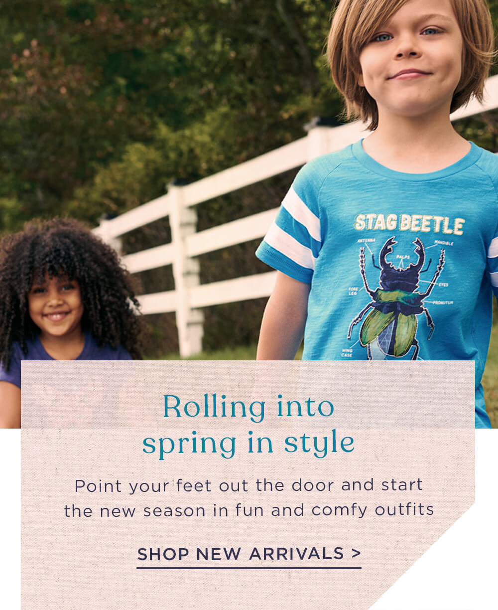 Rolling into spring in style: shop new arrivals