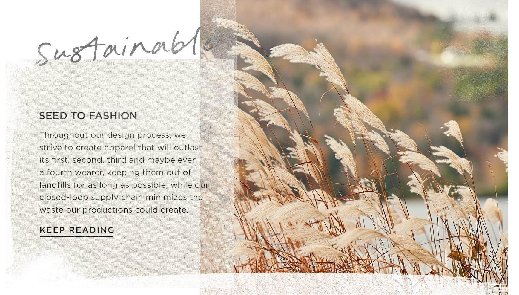 Seed to fashion: minimizing waste in production.