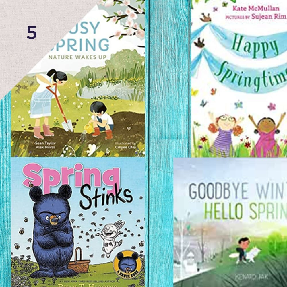 Here are 21 pictures books to welcome spring  - We love We Are Teachers' list