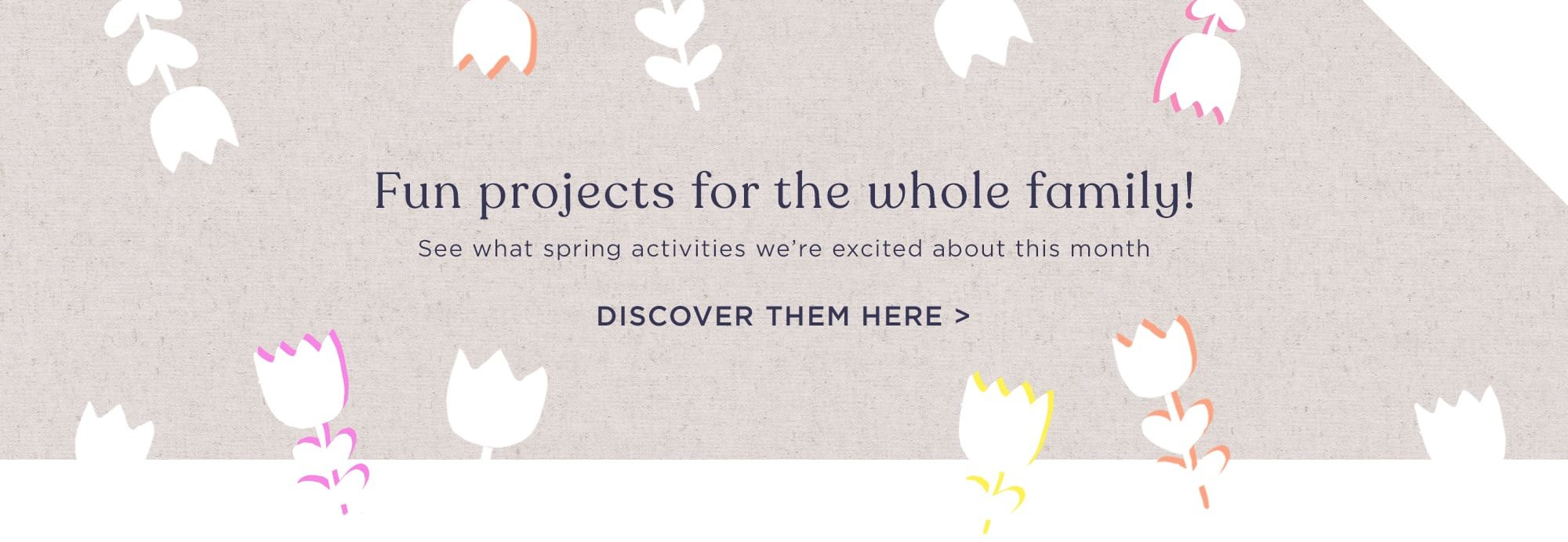 Spring activities to discover