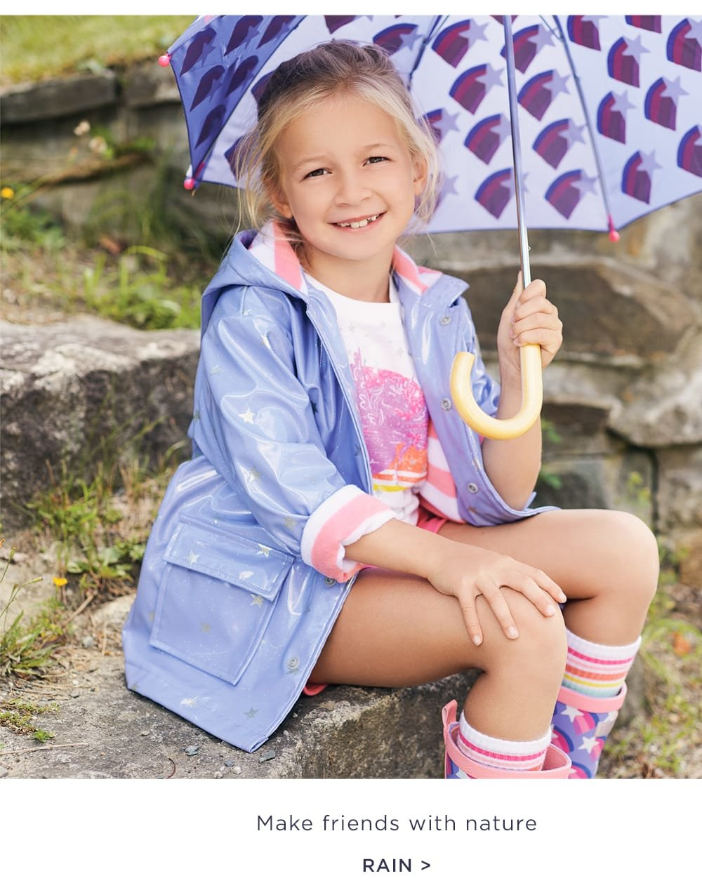 shop girls' rainwear