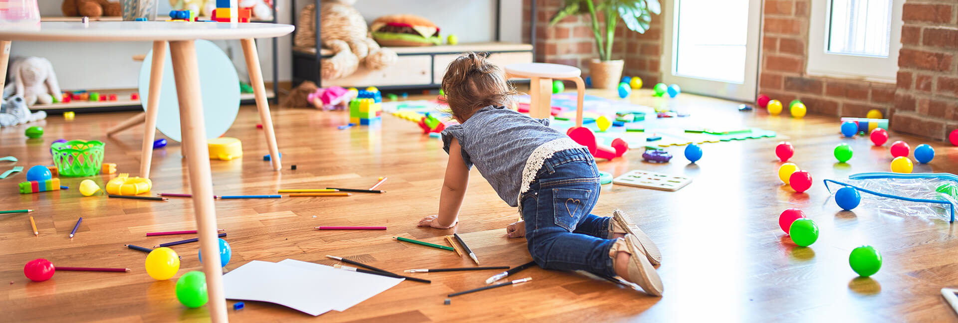 How to declutter your child's toys