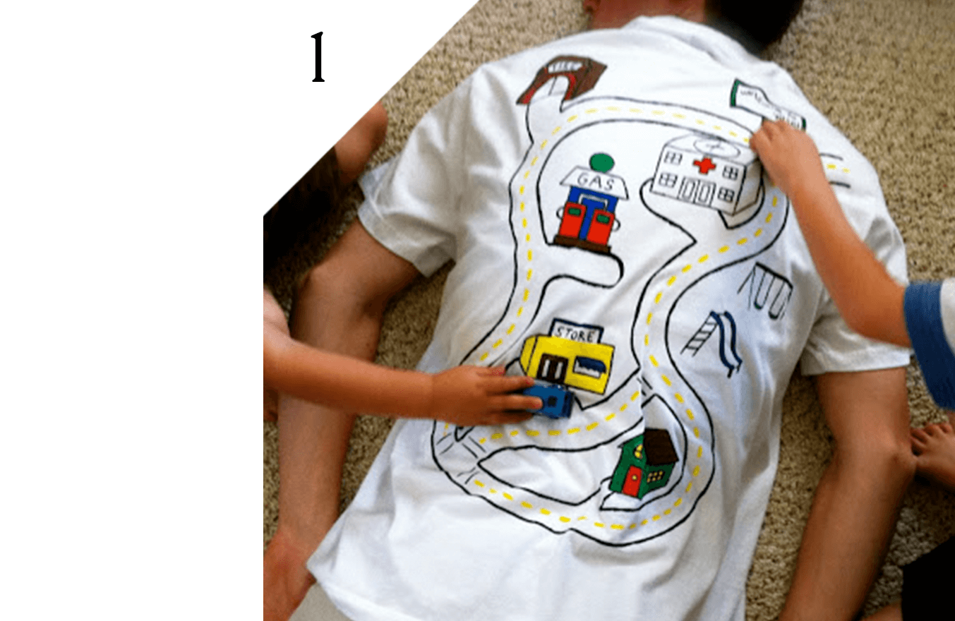 Cute racetrack DIY by All Parenting