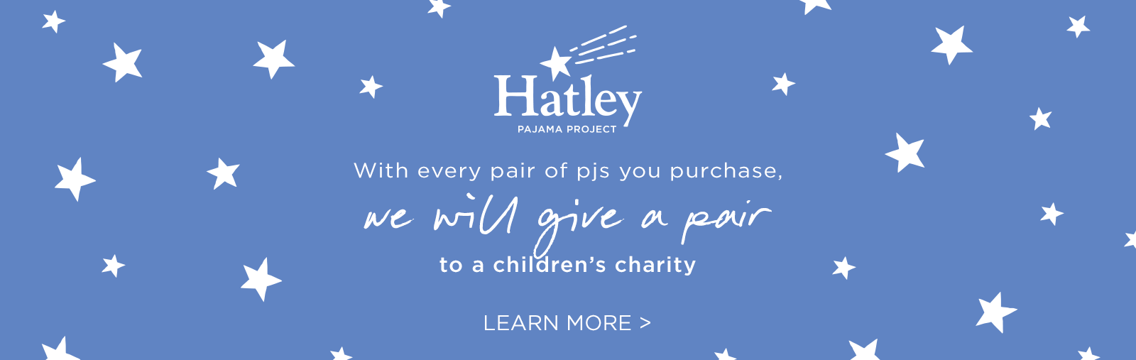 For every pair purchased we will donate one to a children's charity