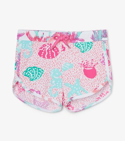 Abstract Sea Life Swim Shorts