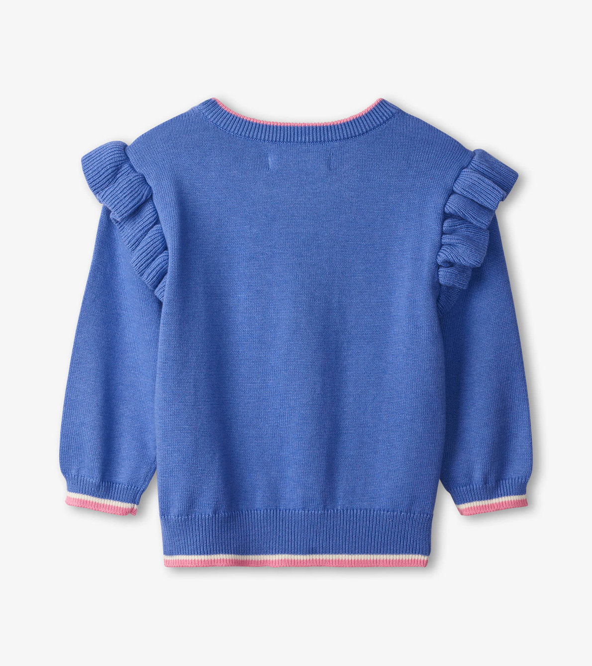 View larger image of Apple Baby Ruffle Sleeve Sweater