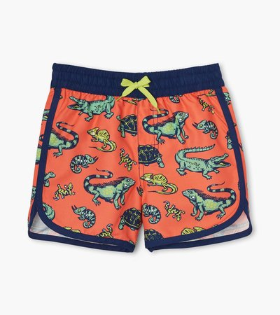 Aquatic Reptiles Swim Shorts