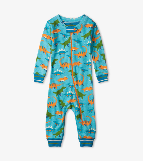 Baby Dinos Organic Cotton Coverall
