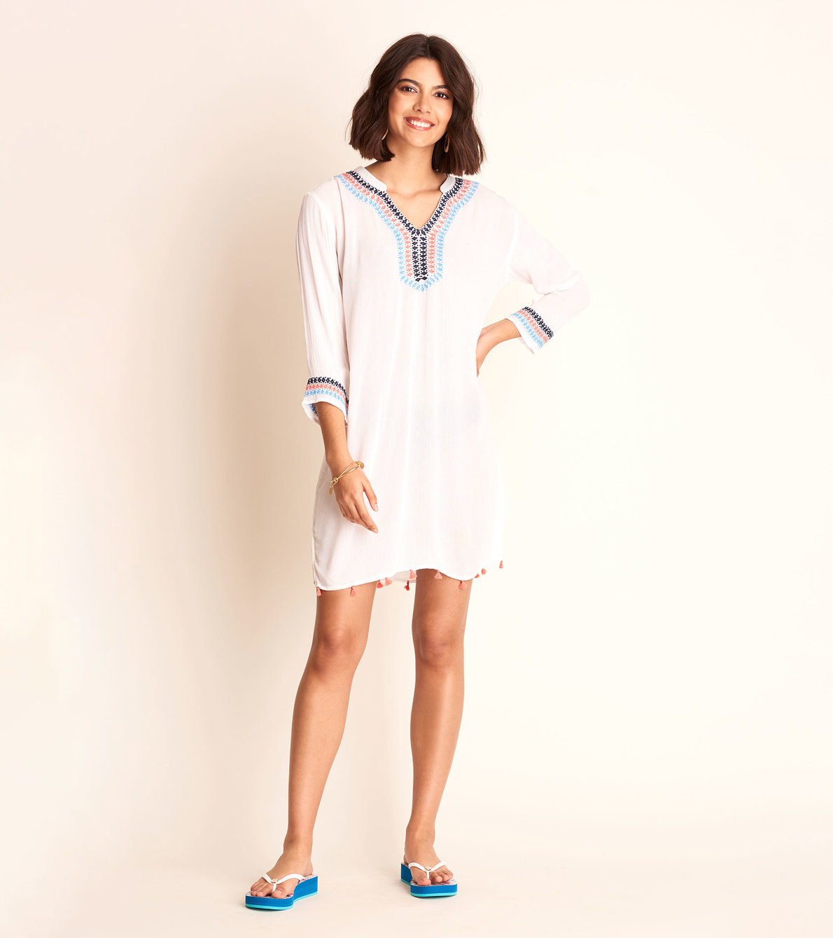View larger image of Bev Tunic - Pure White