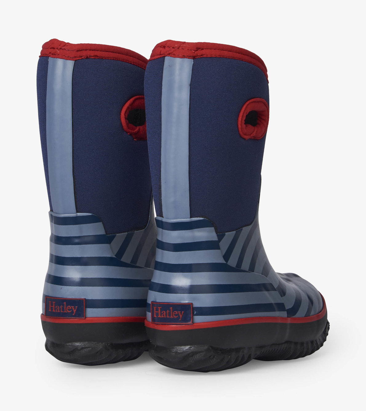 View larger image of Blue Stripe All Weather Boots