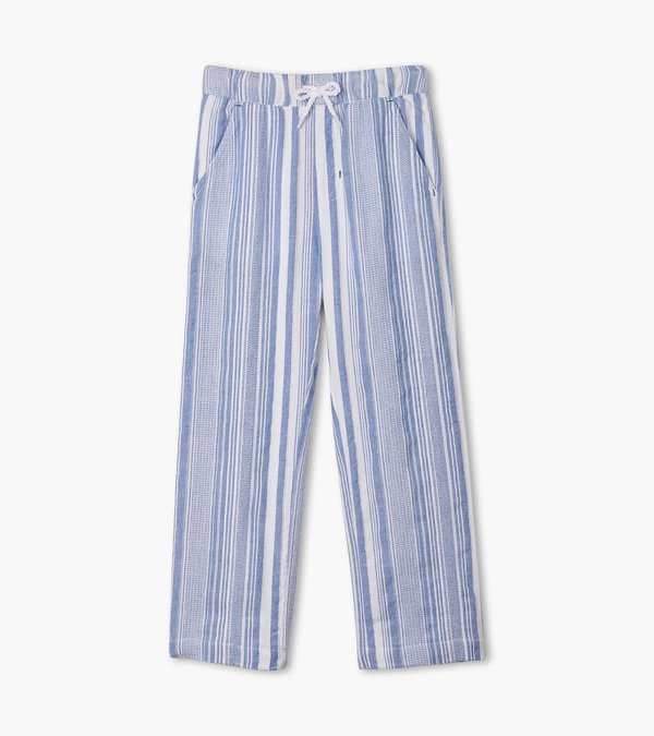 Blue Stripes Relaxed Pant