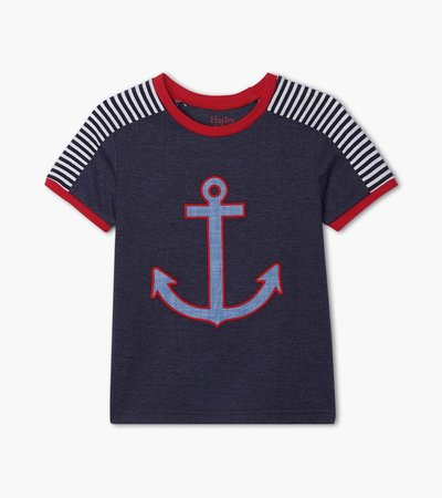 Bold Anchor Graphic Tee