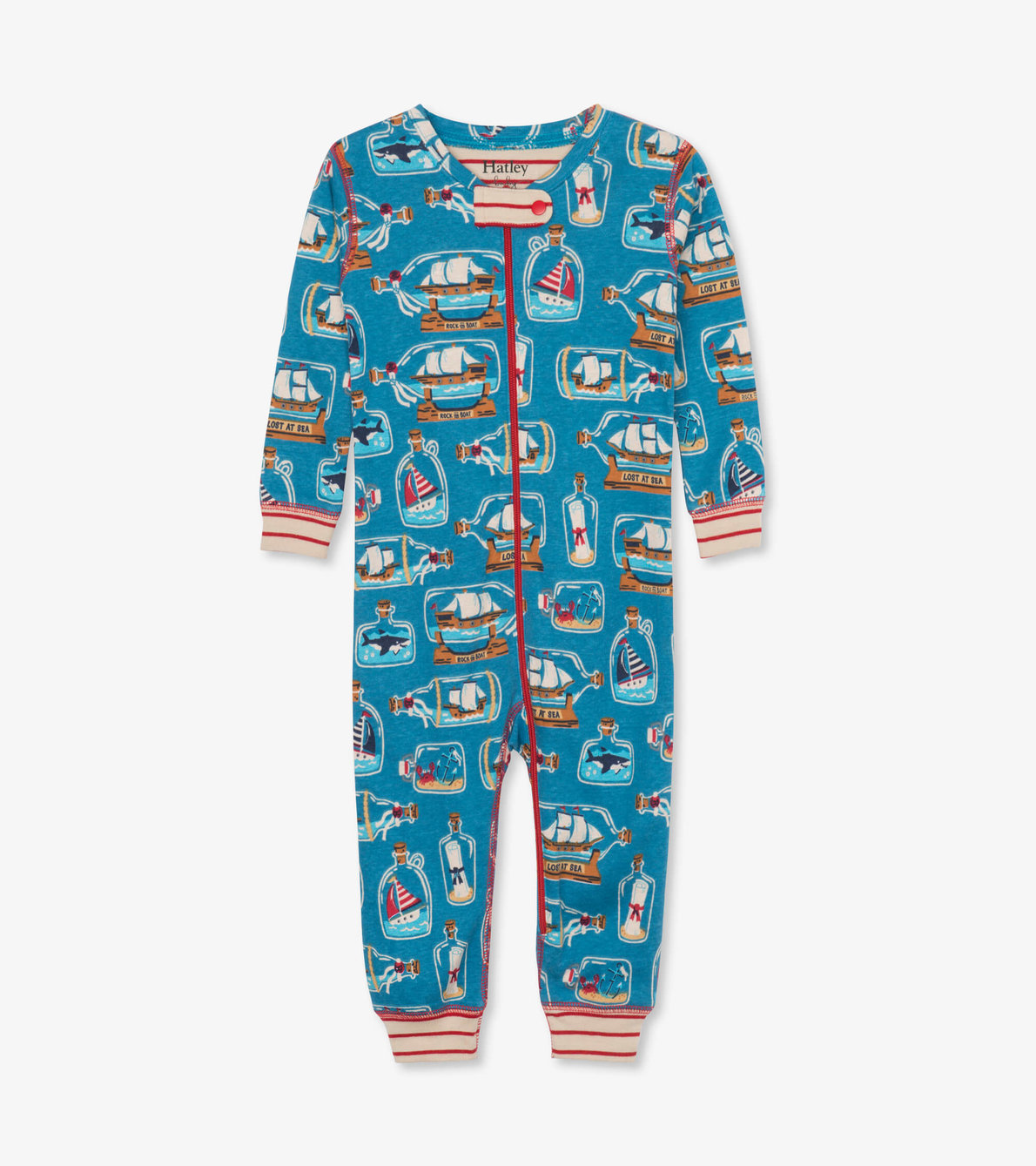 View larger image of Bottled Ships Organic Cotton Coverall