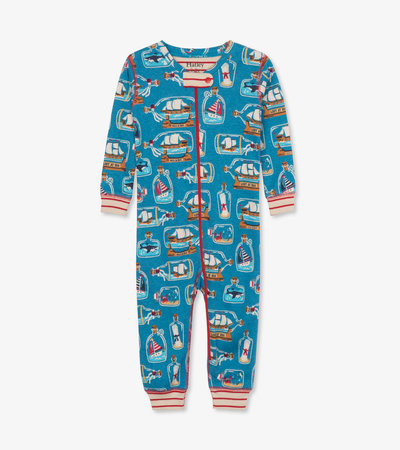 Bottled Ships Organic Cotton Coverall