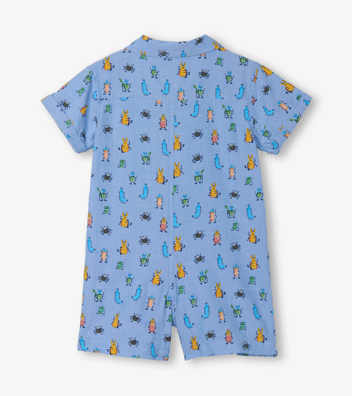 View larger image of Bug Buddies Baby Woven Romper
