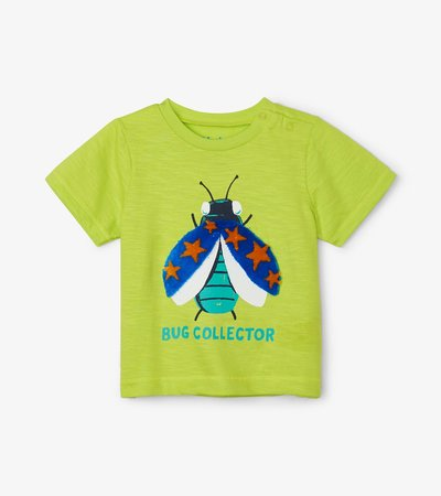 Bug Collector Baby Graphic Tee