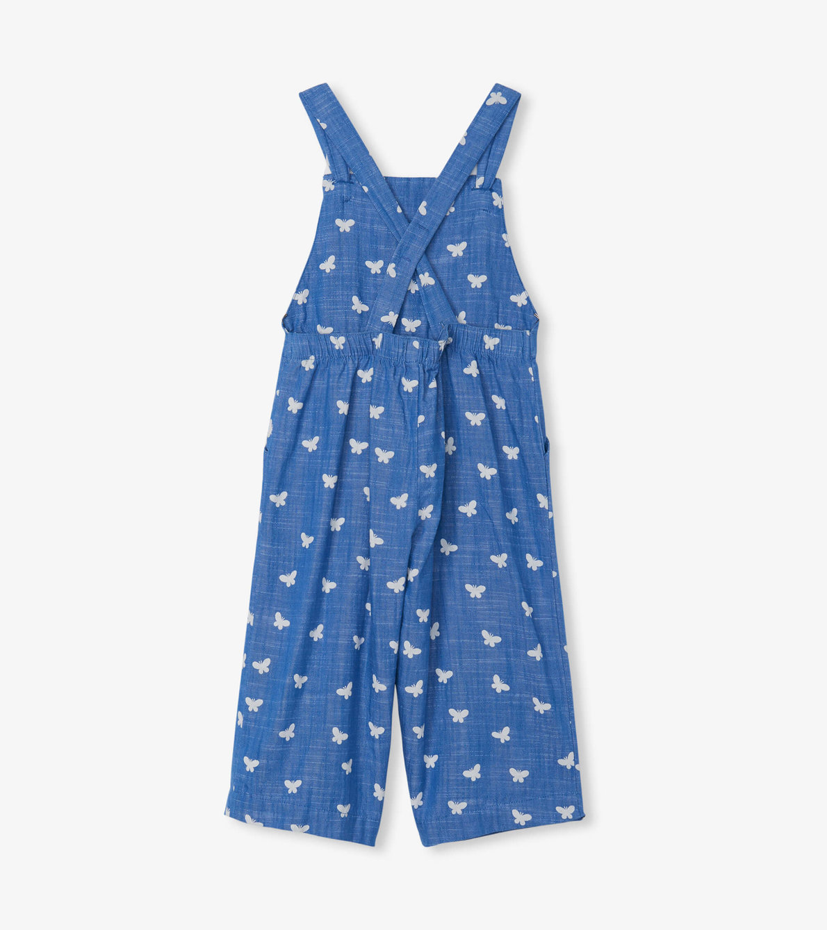 View larger image of Butterfly Kaleidoscope Chambray Romper