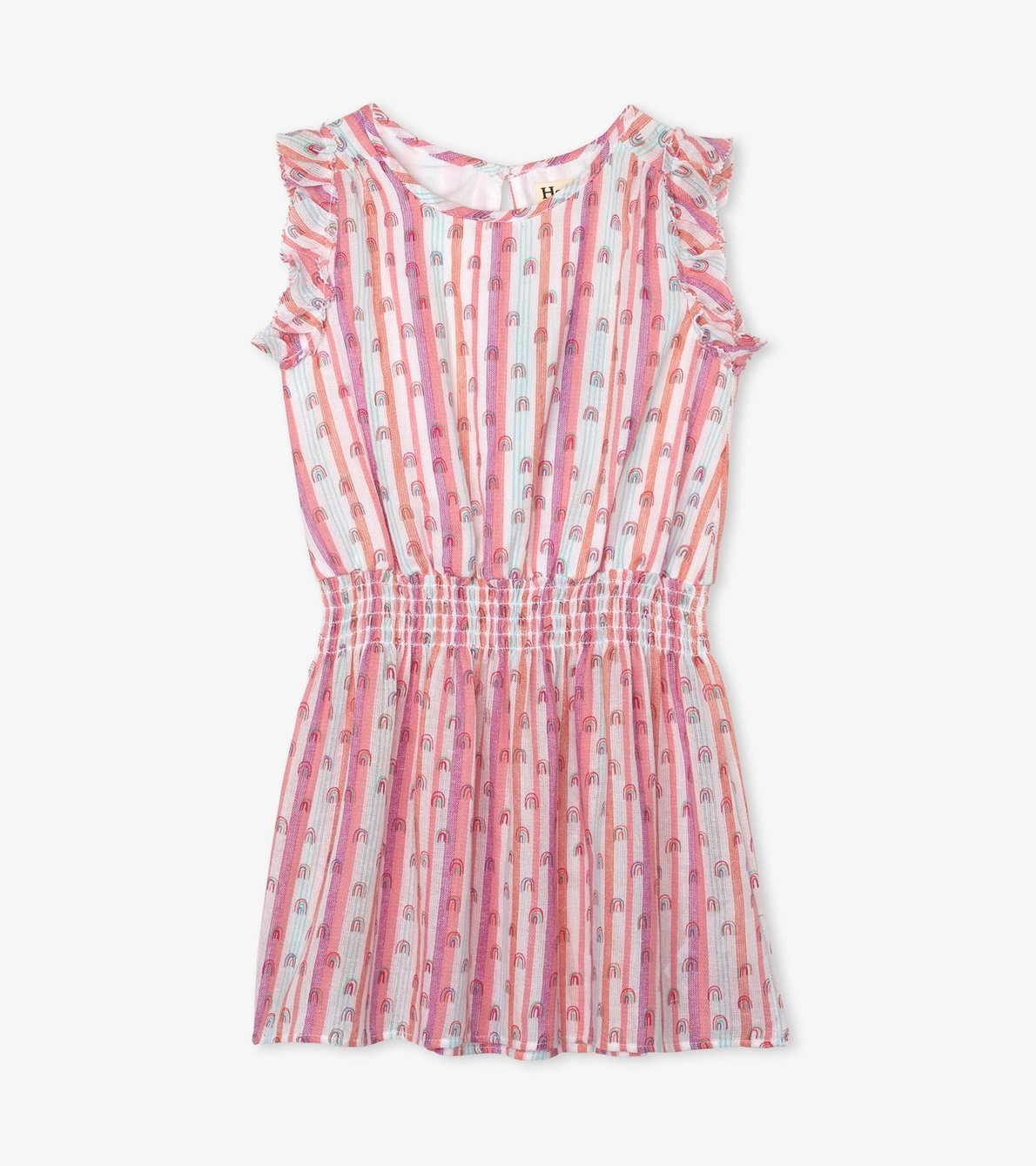 View larger image of Candy Stripes Rainbows Play Dress