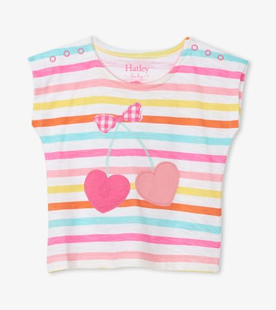 Carnival Stripes Baby Tee
