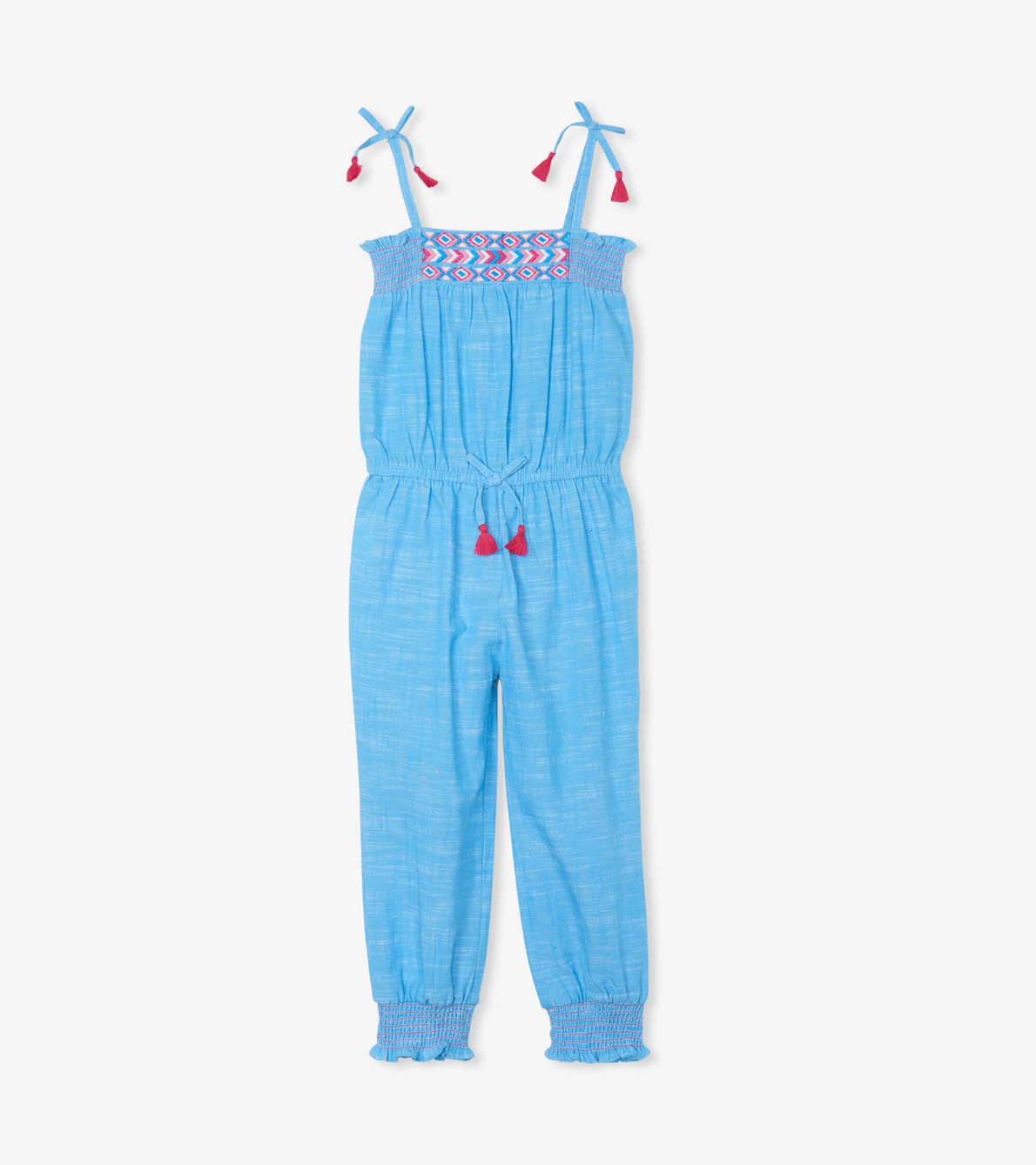 View larger image of Chambray Smocked Jumpsuit