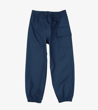Classic Navy Splash Pants