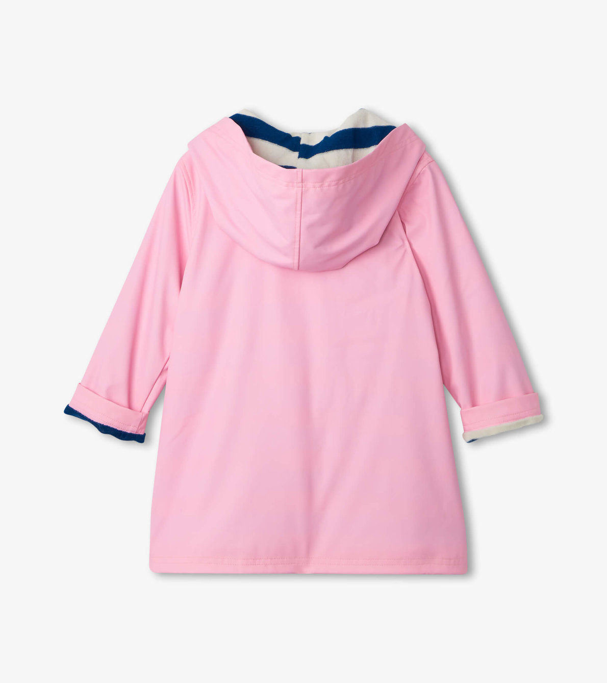 View larger image of Classic Pink with Navy Stripe Lining Splash Jacket