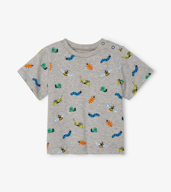 Colourful Critters Baby Graphic Tee