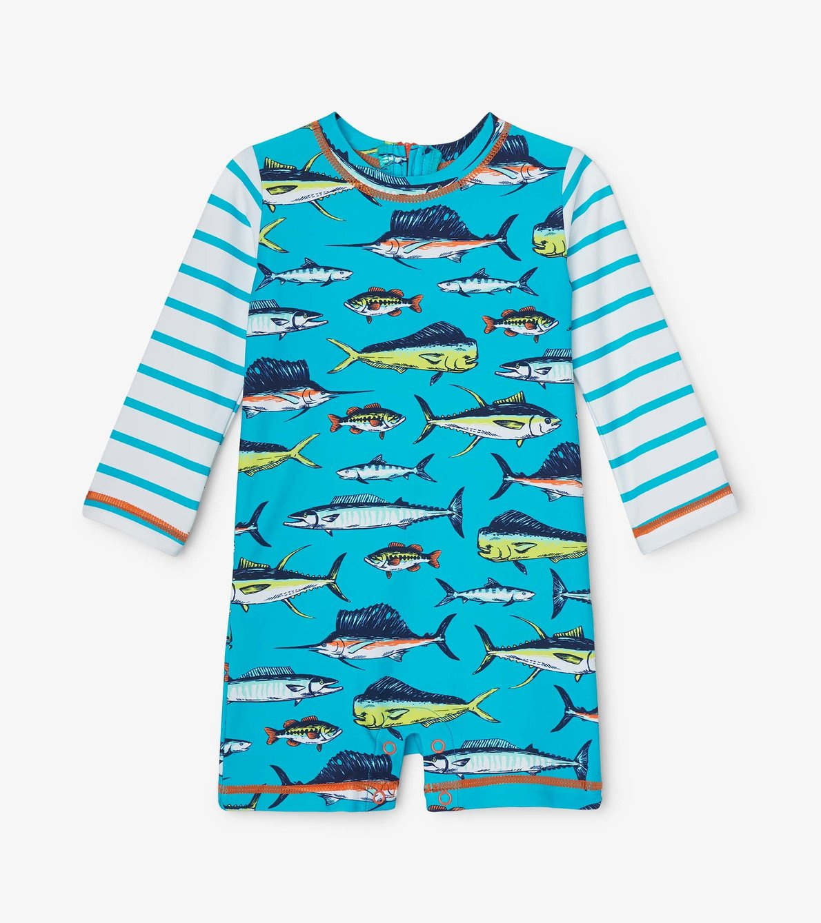 View larger image of Cool Fish Baby One-Piece Rashguard