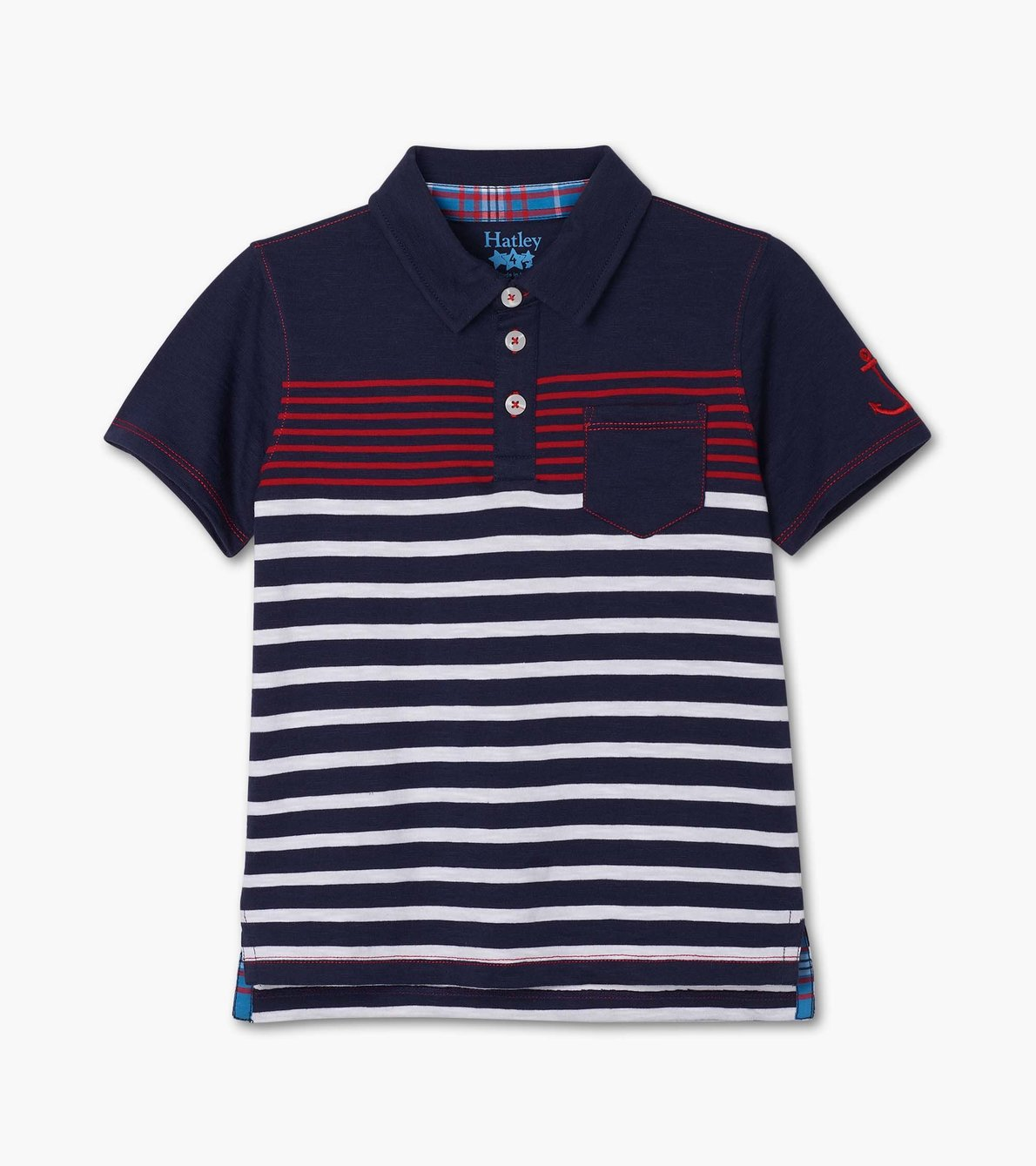 View larger image of Cool Nautical Polo Tee