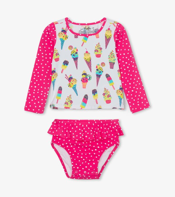 Cool Treats Baby Rashguard Set