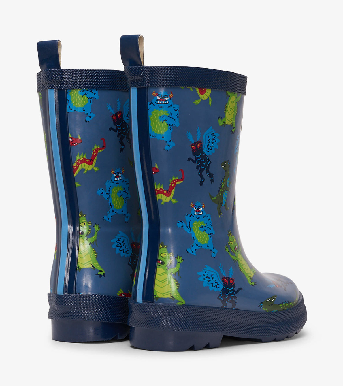 View larger image of Creepy Cryptids Shiny Rain Boots