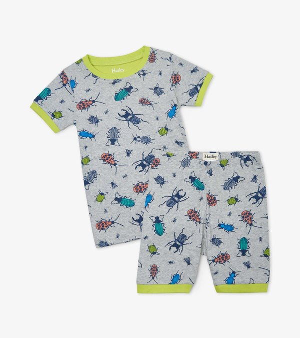 Curious Critters Organic Cotton Short Pajama Set