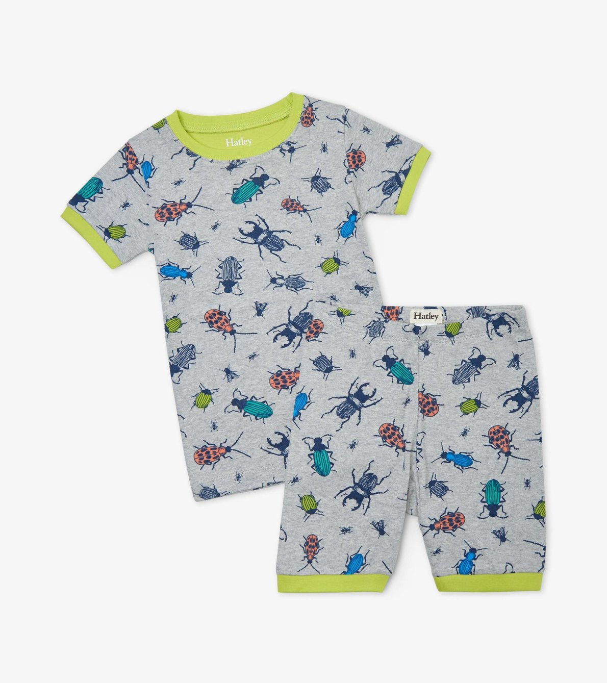 View larger image of Curious Critters Organic Cotton Short Pajama Set