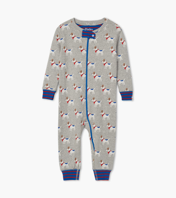 Cute Pups Organic Cotton Coverall