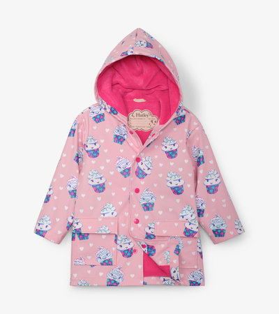 Dancing Cupcakes Colour Changing Raincoat