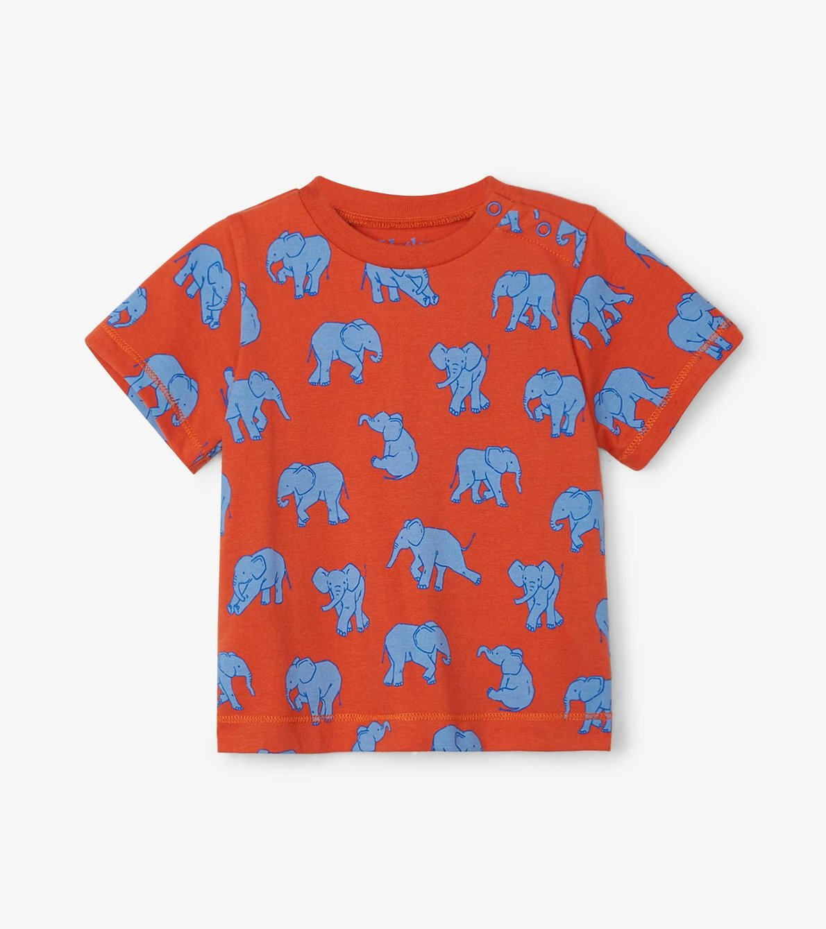 View larger image of Dancing Elephants Baby Graphic Tee