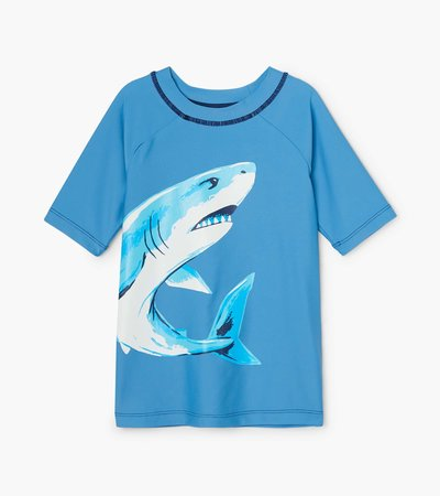 Deep Sea Shark Short Sleeve Rashguard