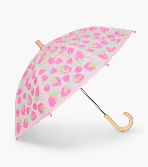 Delicious Berries Clear Umbrella