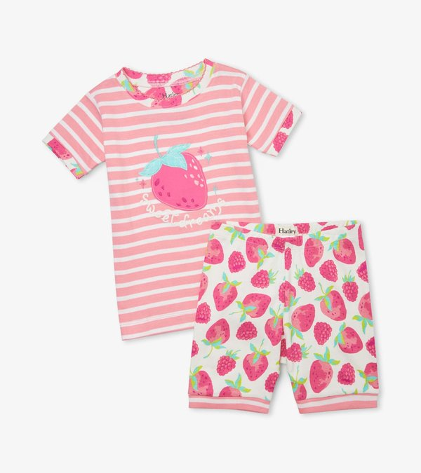 Delicious Berries Organic Cotton Short Pajama Set
