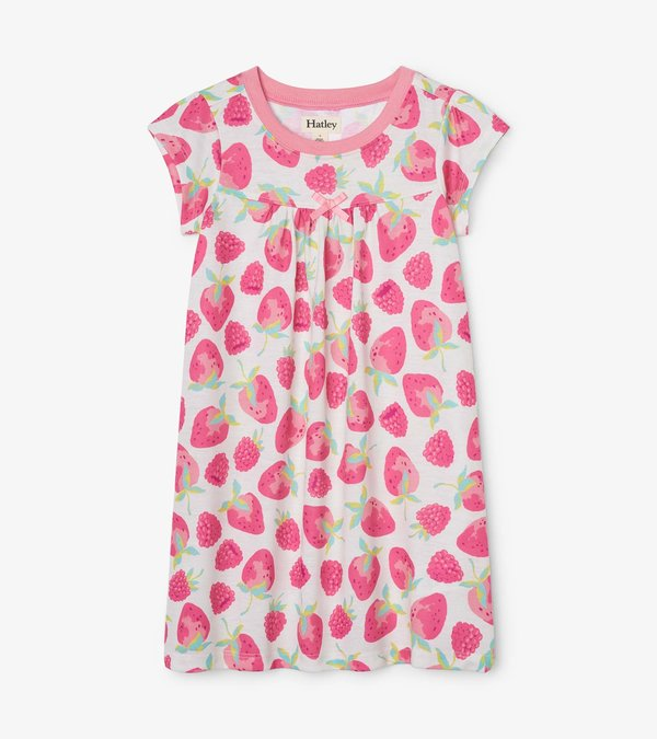 Delicious Berries Short Sleeve Nightdress